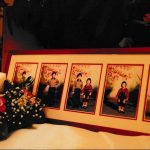 Decorated with Family Photos and Candles 1